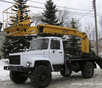 Автовышка ГАЗ 14 м