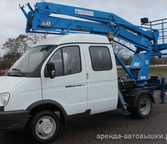Автовышка ГАЗ 12 м