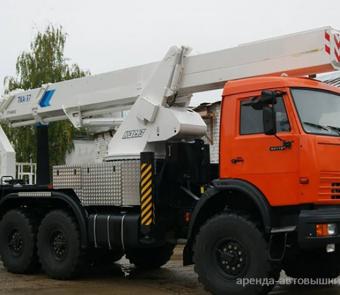 Автовышка Камаз 37 м